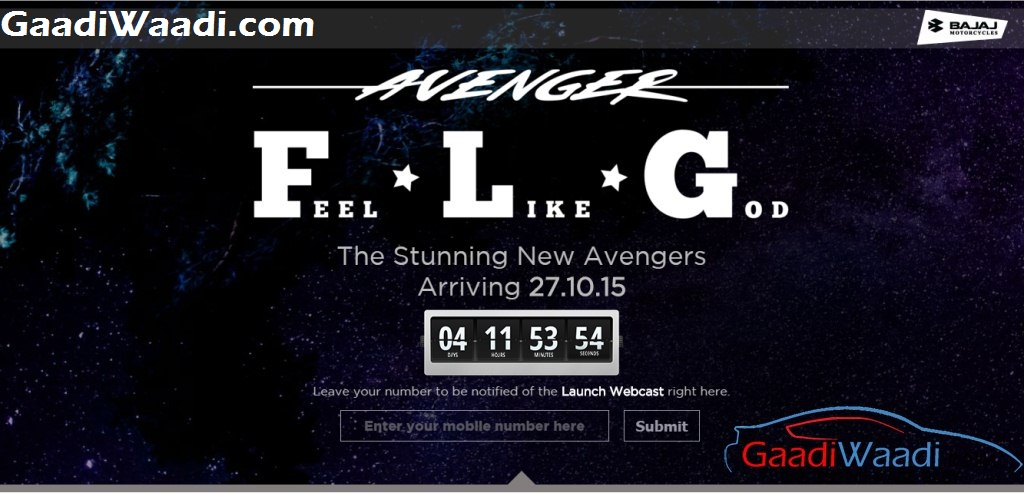 Bajaj Avenger Website FLG
