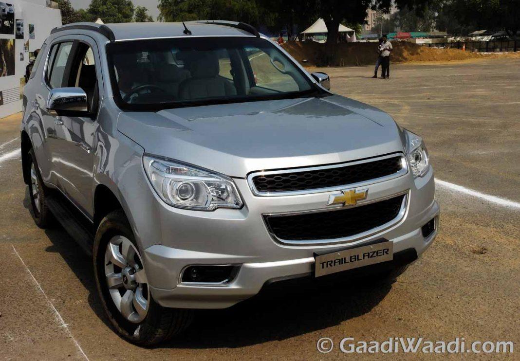 Chevrolet Trailblazer in India-10