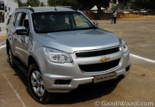 Chevrolet Trailblazer in India-10