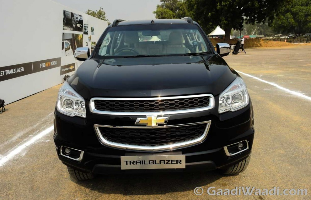 Chevrolet Trailblazer in India-12