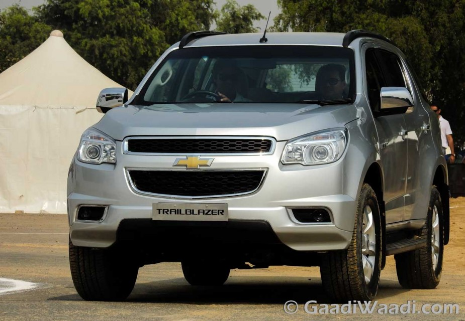 Chevrolet Trailblazer India-9