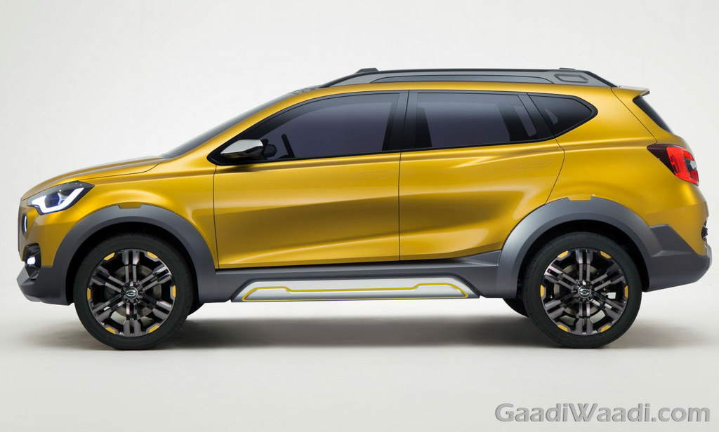 Datsun GO-Cross Concept Unwraps at 2015 TMS, India Launch ...