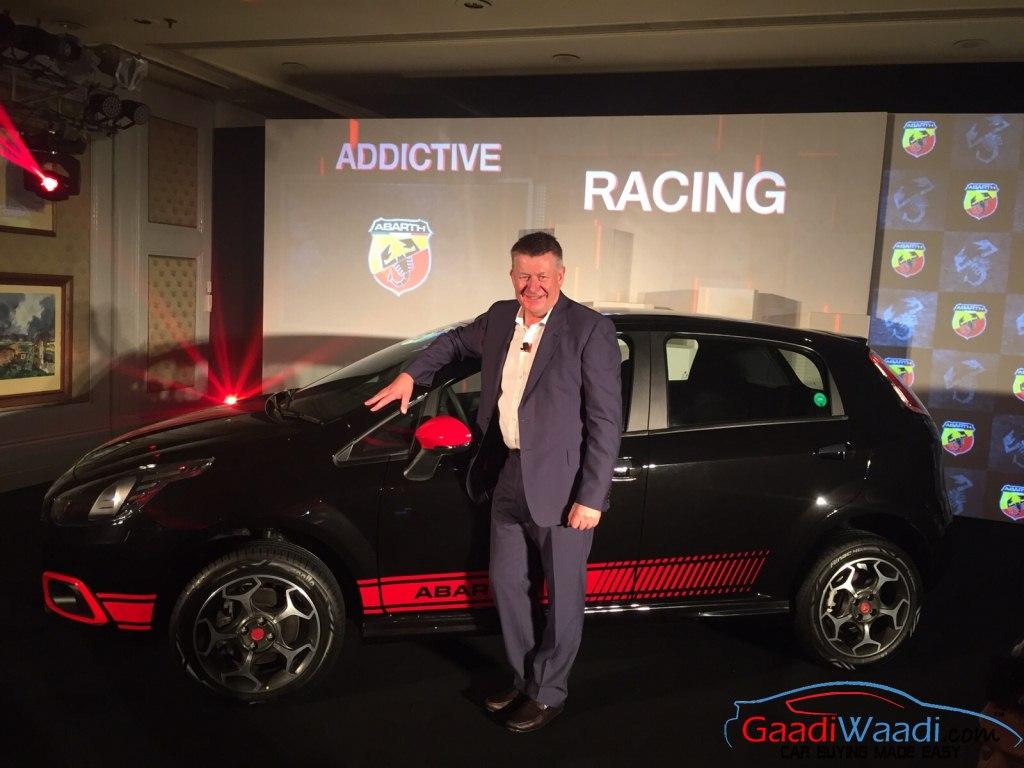 Fiat Punto Abarth Launch India