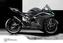 Honda CBR250RR Light Weight Concept Tokyo Motor Show 01