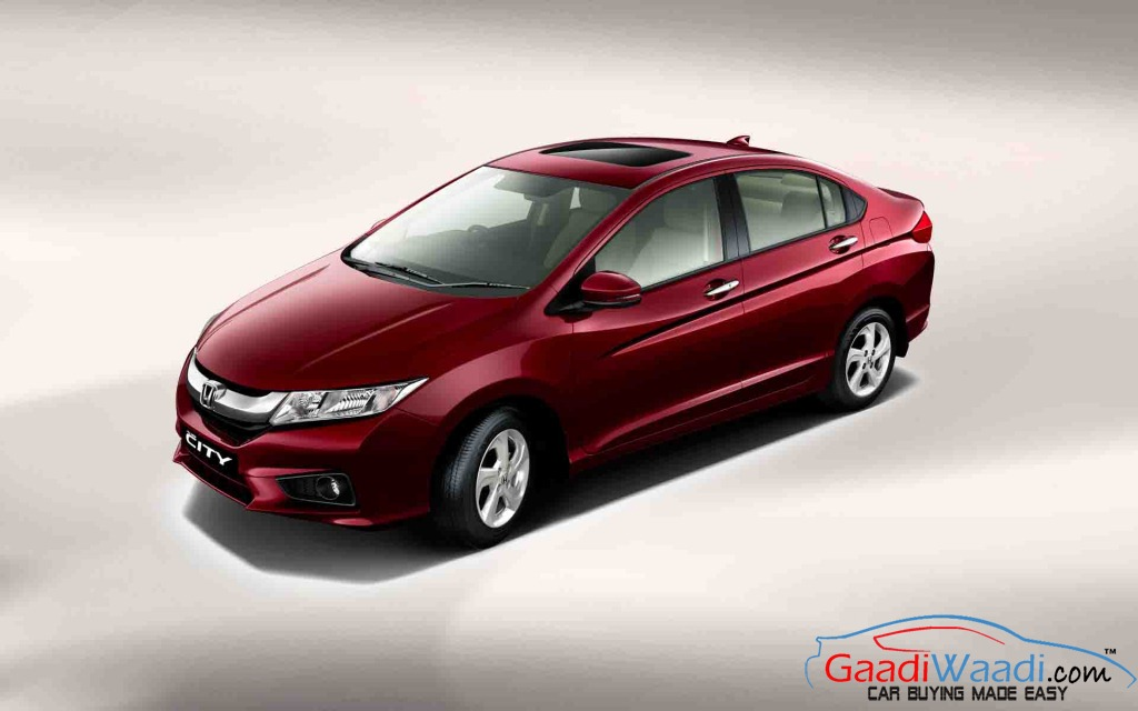 3879 Units Of Honda City Recalled In India