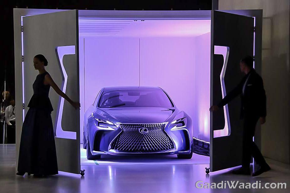 Lexus LF-FC Concept Tokyo Motor show