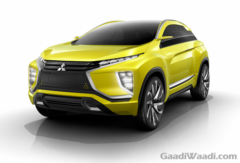 MITSUBISHI eX Concept front view