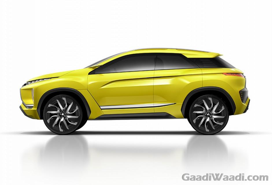 Mitsubishi Previews Upcoming MPV XM Concept Crossover