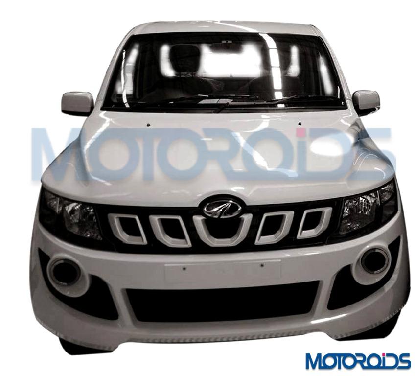 2016 Mahindra Genio facelift