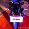 Mahindra Mojo White-Black-5