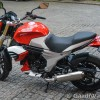 Mahindra Mojo racing colour photo