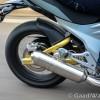 Mahindra Mojo rear tyres image