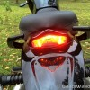 Mahindra Mojo taillight