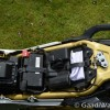 Mahindra Mojo under seat battery image