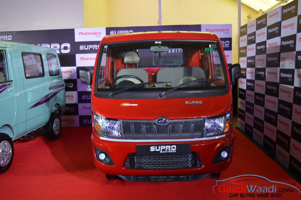 810b90a1727cab Mahindra Launches Supro Van and Supro Maxi Truck