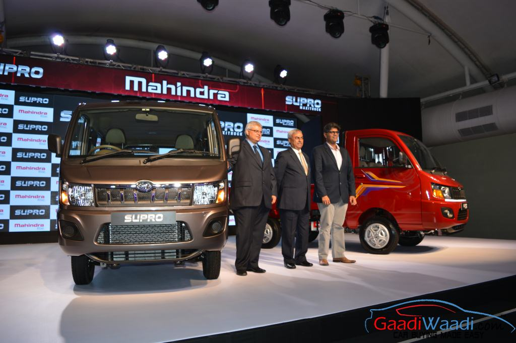 Mahindra Launches Supro Van And Supro Maxi Truck Based On