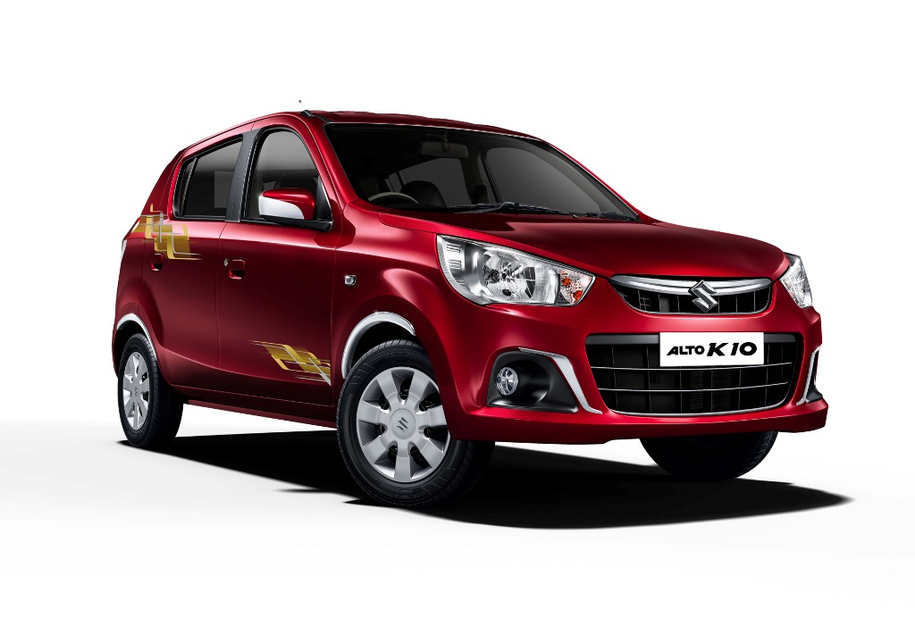 maruti alto k10 urbano limited edition launched ahead of