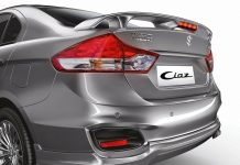 Maruti Ciaz RS Rear Spoiler