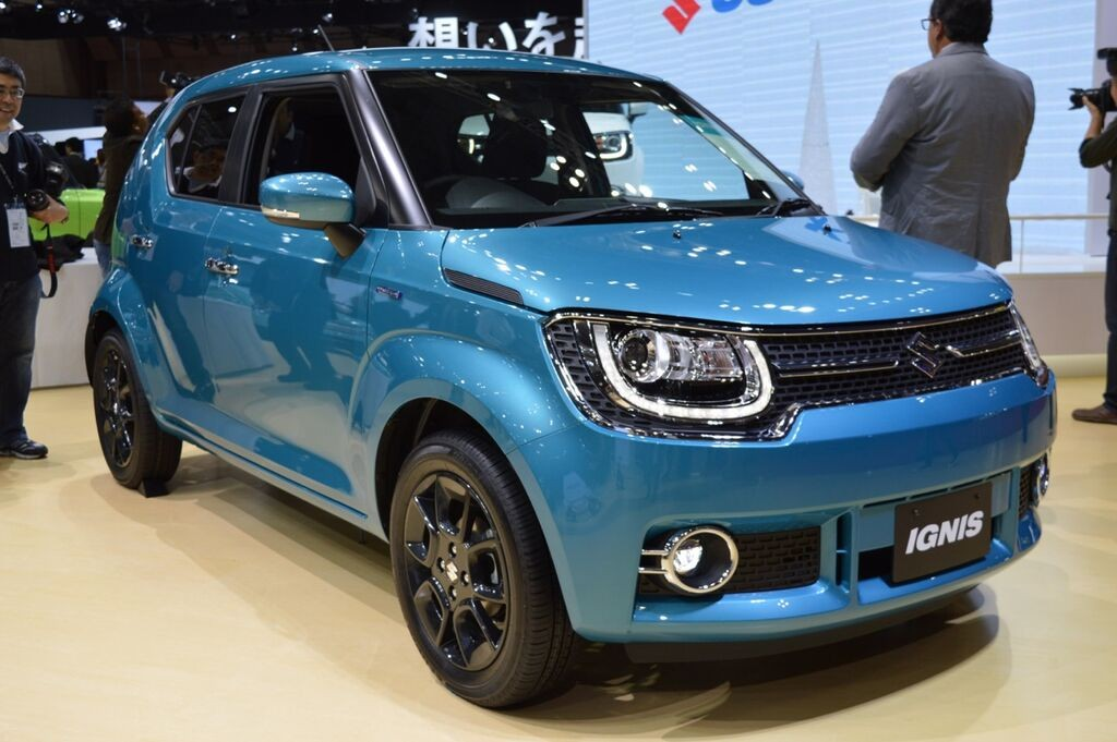 production version of india bound suzuki ignis debuts at the 2015 tokyo motor show. Black Bedroom Furniture Sets. Home Design Ideas