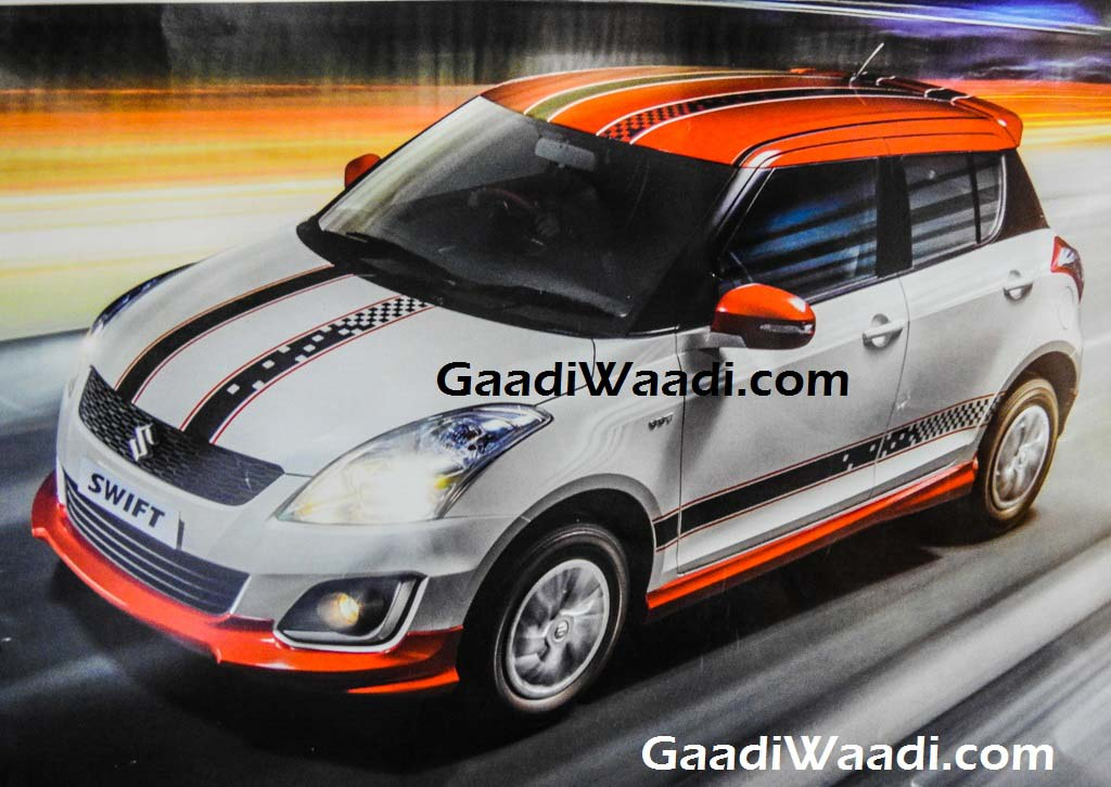 Maruti Suzuki Swift Glory limited sports edition-1