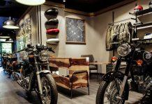 Royal Enfield Paris store opening
