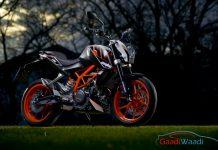 2016 KTM Duke 390 Orange Cup