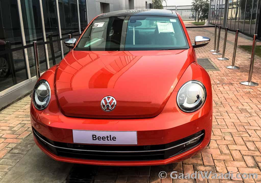 2016 volkswagen new beetle launched in india at rs lakhs latest car. Black Bedroom Furniture Sets. Home Design Ideas