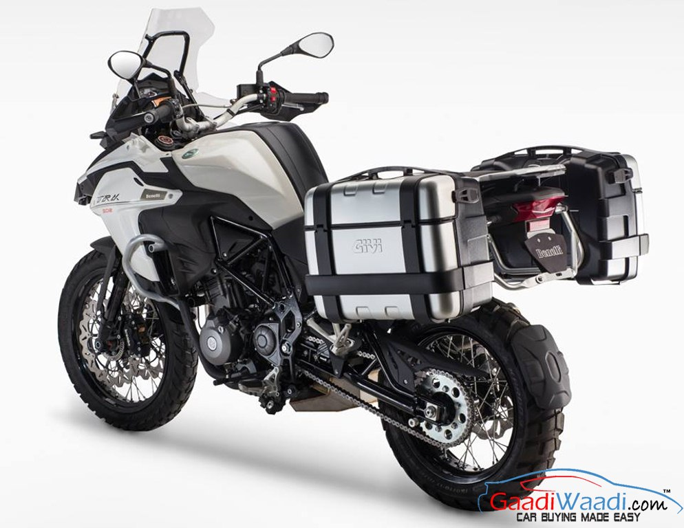 2016 benelli trk 502 is a mid size adventure touring bike. Black Bedroom Furniture Sets. Home Design Ideas