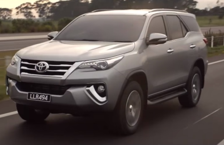 india bound 2016 toyota fortuner suv in australia specific commercial. Black Bedroom Furniture Sets. Home Design Ideas