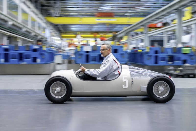 Audi Recreates 1936 Auto Union Type C Race Car Using 3D Printing