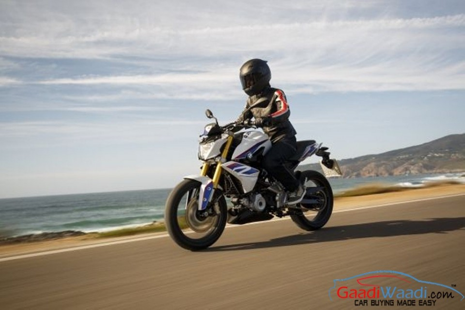 BMW India G310R Launch (bmw g310r recalled )