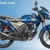 Honda CB Shine SP 125 blue
