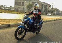 Honda CB Shine Sp test ride review-21