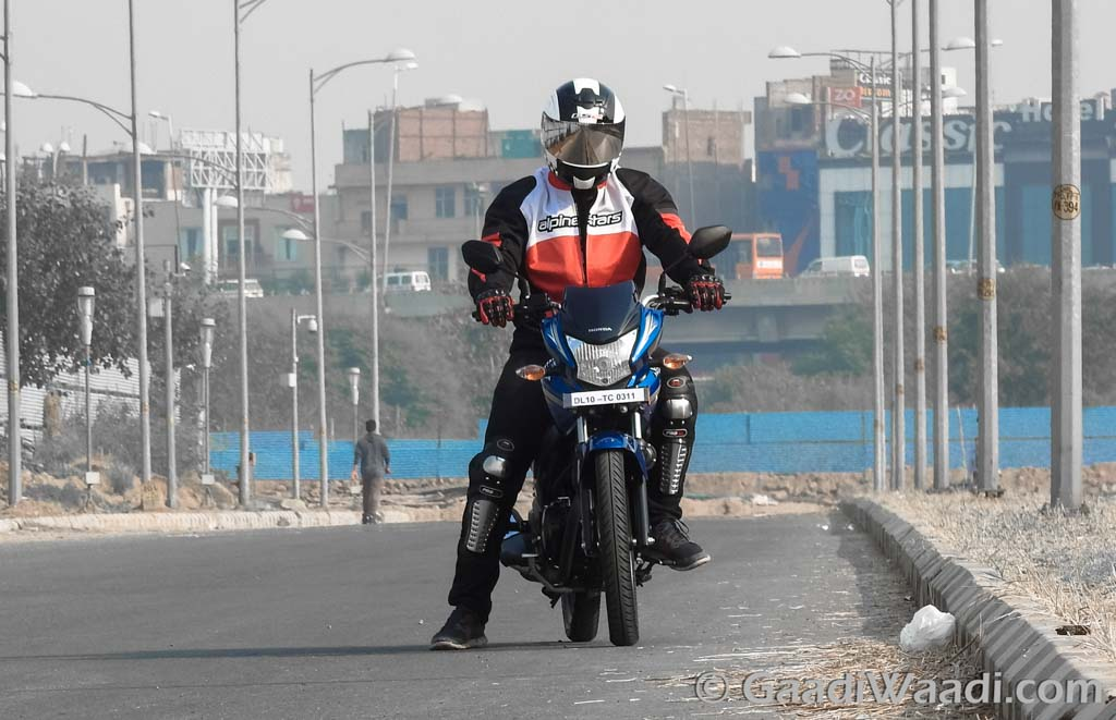 Honda CB Shine Sp test ride review-4