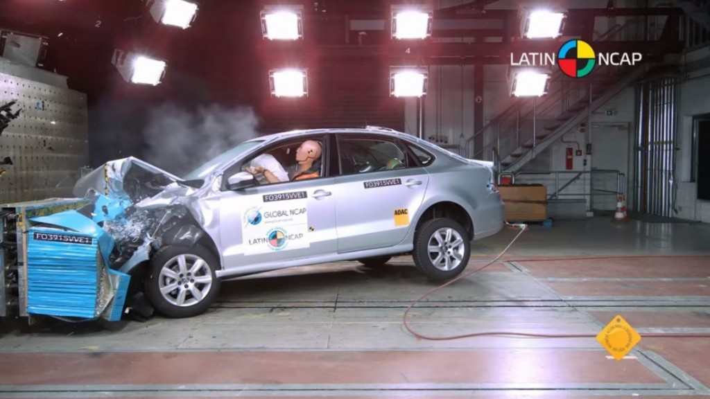Indian-made 2015 VW Vento Rated Five Star for Safety by Latin NCAP 1