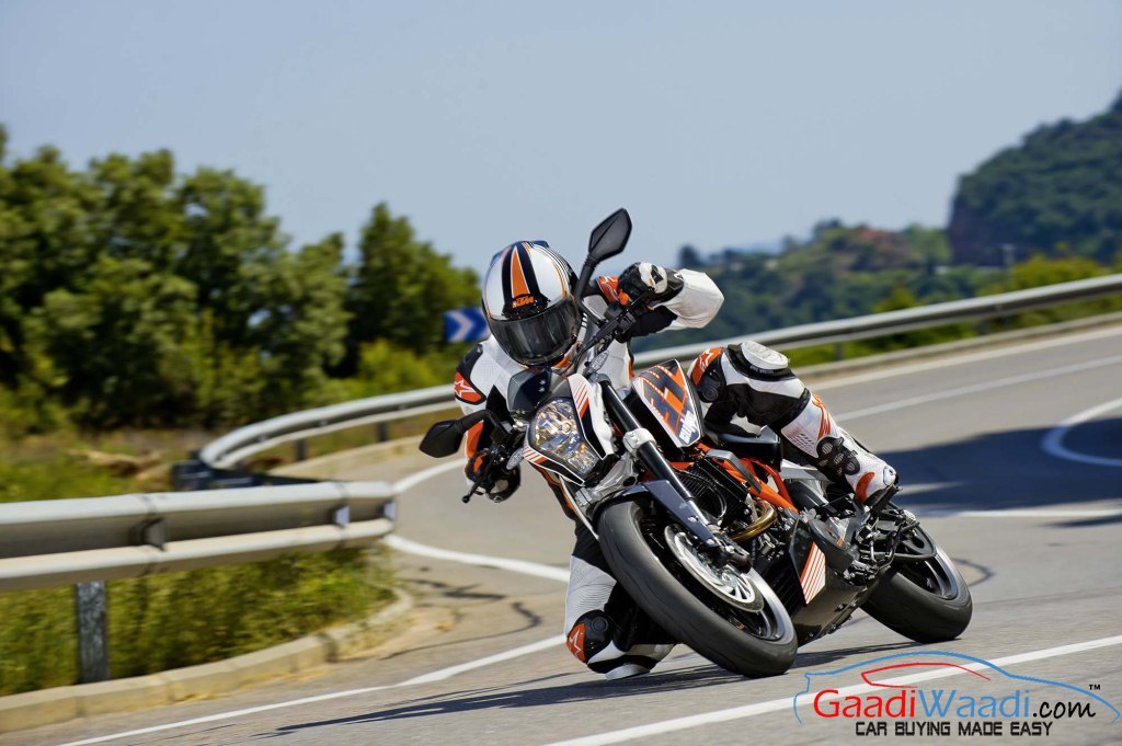 KTM Duke 390 Official Pics