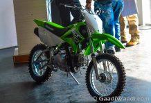 Kawasaki KLX110 Launched in India (2)