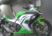 Kawasaki Ninja 300 Special Edition India (5)