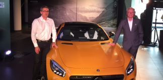 Mercedes AMG GT S India Launch