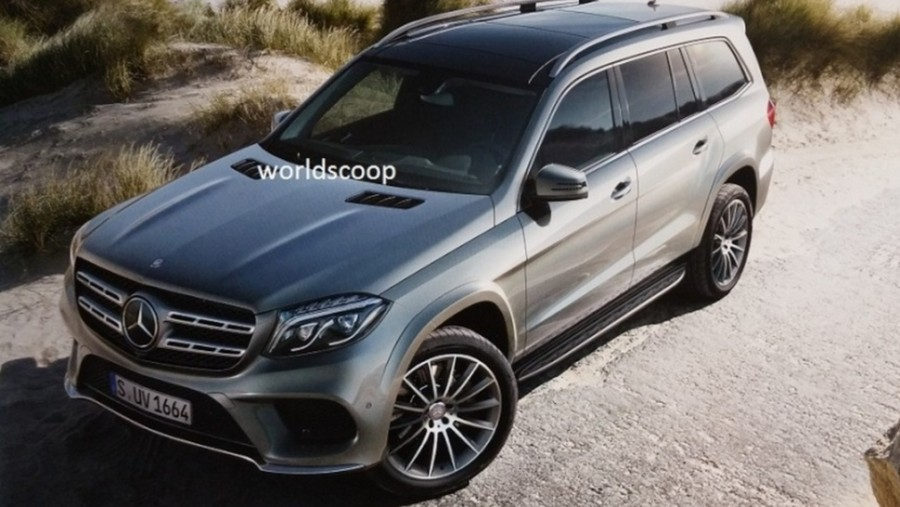 Mercedes-Benz GLS Class Images Leaked Online