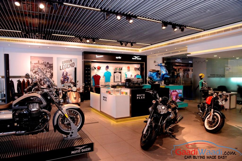 Piaggio Motoplex store pune india (1)