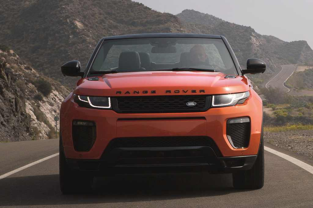 Range Rover Evoque Convertible Launched In India - Price ...