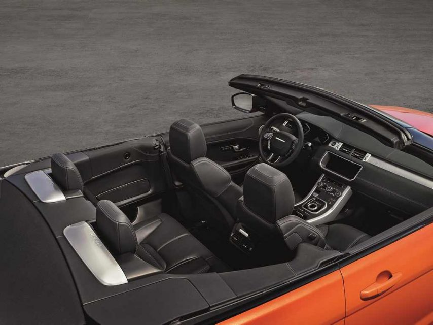 Range Rover Evoque Convertible India Launch, Price, Engine, Specs, Features, Interior, Booking 6
