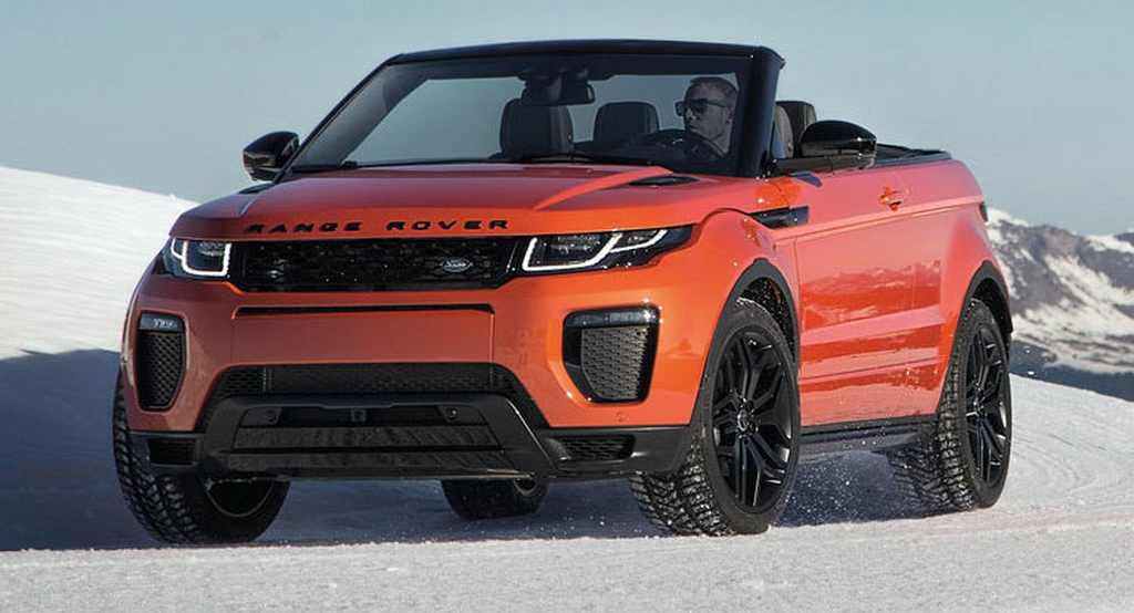 Range Rover Evoque Convertible Launched In India Price