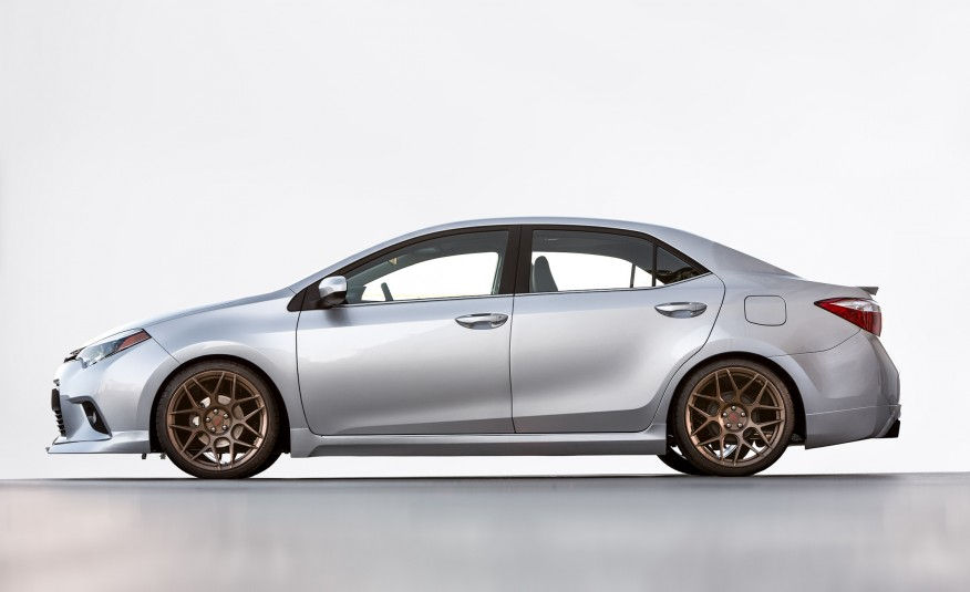 Toyota Corolla Trd And Camry Trd Concepts Unleashed At