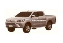 Toyota hilux patented in India