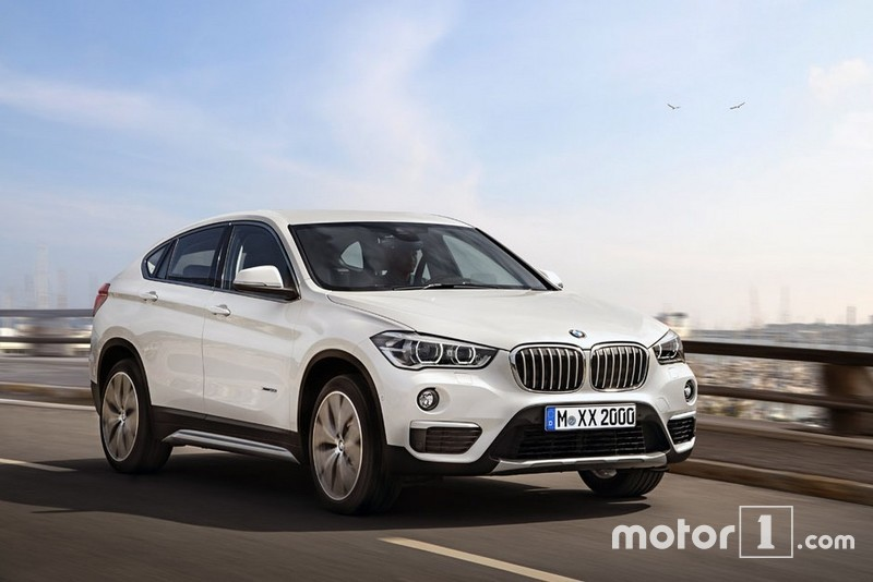 Bmw X2 Crossover Coupe Rendered