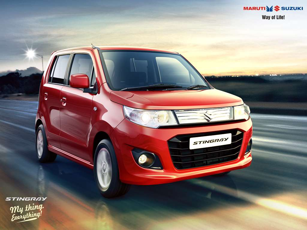 maruti suzuki wagon r amt and stingray amt launched from rs lakhs. Black Bedroom Furniture Sets. Home Design Ideas