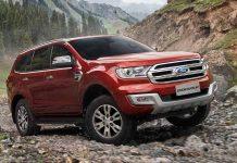 2016 Ford endeavour 1st quarter