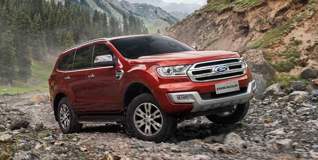 ford endeavour sees massive boost in march 2016 sales - gaadiwaadi
